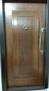 درب ضد سرقت لوکس رنگی مدل MA 282 درب چوبی