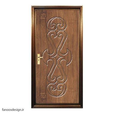 درب چوبی سرویسی کد 059