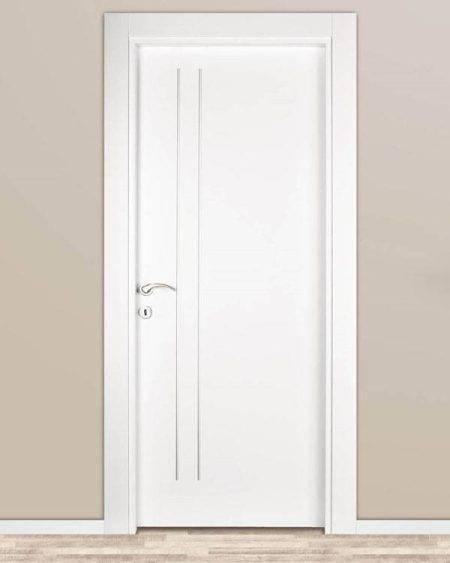 فروش درب داخلی ساختمان، درب داخلی منزل، درب اتاقی، درب ملامینه، درب شیشه خور اتاقی، درب داخلی اتاق MDF اتاقی با رنگ پلی اورتان کد 929