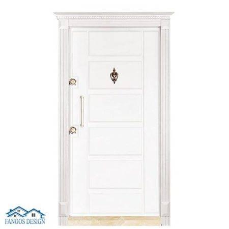 درب ضد سرقت سفید CNC کدMT205