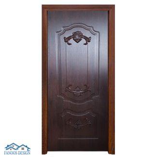 درب اتاق خواب سلطنتی رویه PVC کد 3045