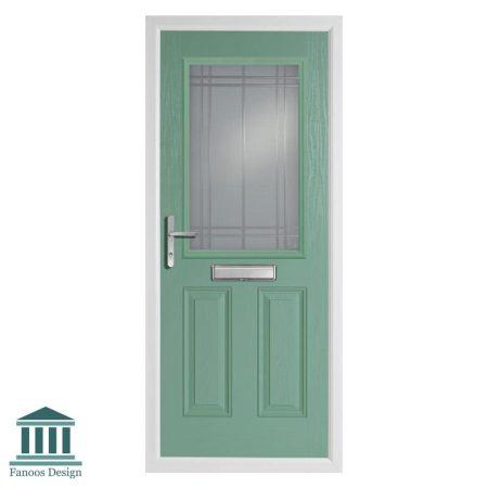 درب ورودی شیشه خور کلاسیک مدل انگلیسی کد 4029