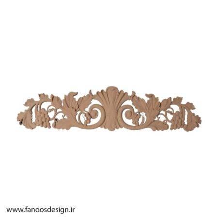 گل منبت چوبی کد 049