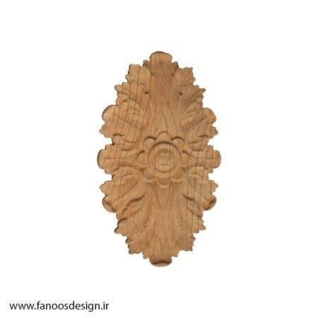 گل منبت چوبی کد 017