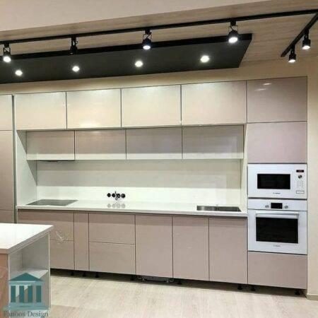 کابینت آشپزخانه هایگلاس کد 0158