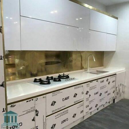 کابینت آشپزخانه هایگلاس کد 0245