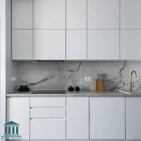 کابینت آشپزخانه پی وی سی کد 0225