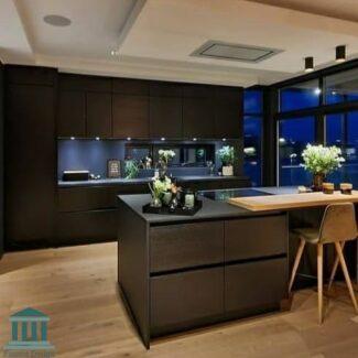 کابینت آشپزخانه پی وی سی کد 0223